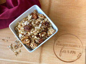 Saffron Maple Nut Granola